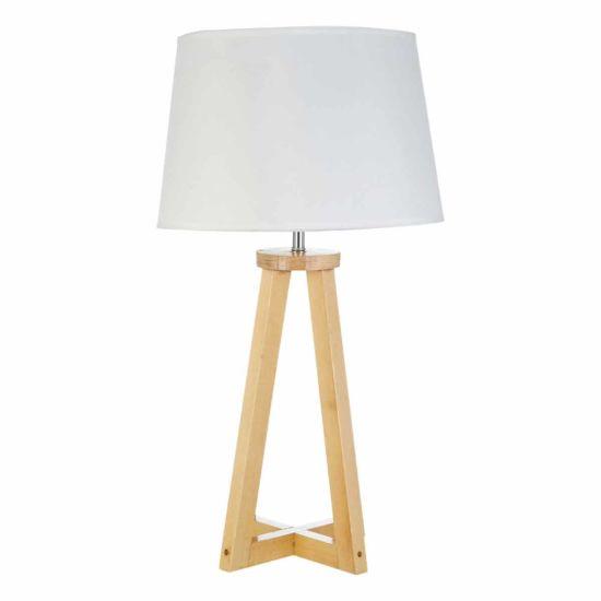 Premier Housewares Brett Table Lamp with Shade