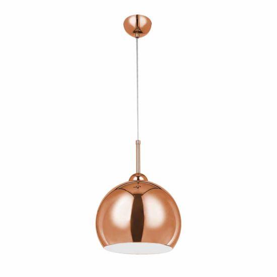 Premier Housewares Copper Finish Pendant Light