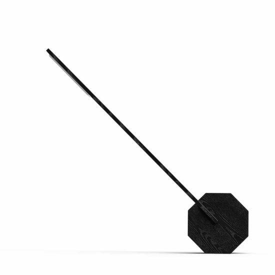 Gingko Octagon One Desk Lamp black
