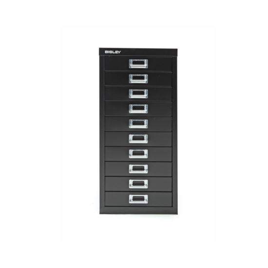 Bisley Desktop Cabinet 10 Drawer H590xW279xD380mm Steel