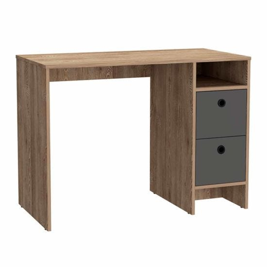 Vegas Study Desk with 2 Drawers