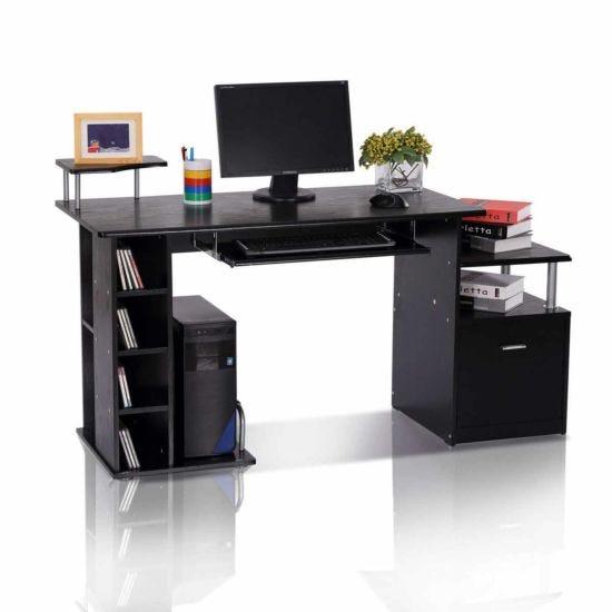 Leetiana Computer Desk with Storage