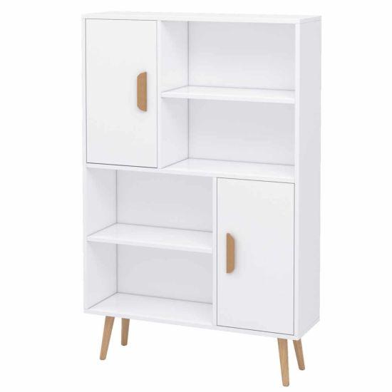 Mason Shallow Depth Free Standing Storage Unit White
