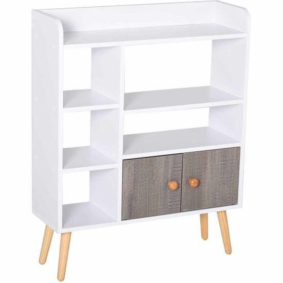 Adair Shallow Depth Multi-Shelf Storage Unit