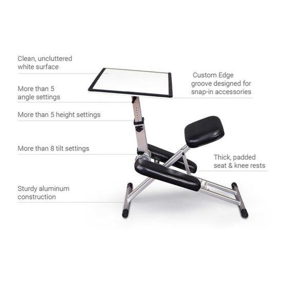 The Edge Kneeling Posture Desk System