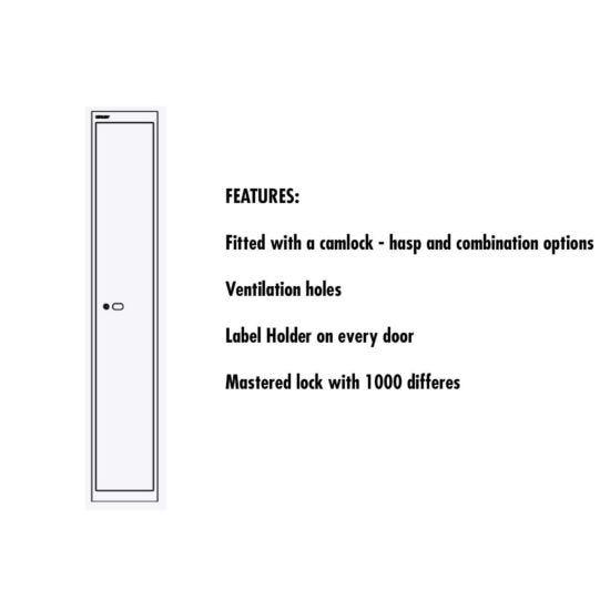Bisley Universal Steel Locker 1 Door