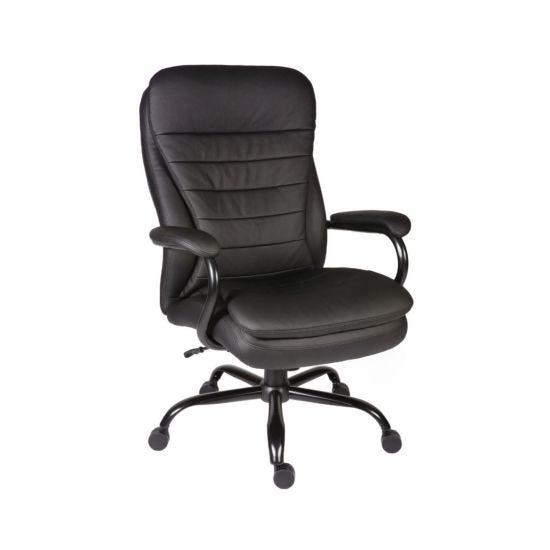 Teknik Office Goliath Leather Faced Executive Heavy Duty Chair