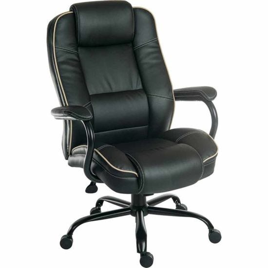 Teknik Office Goliath Duo Heavy Duty Executive Chair Black