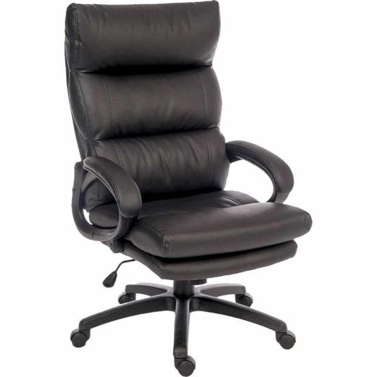 Teknik Office Luxe Leather Look Executive Chair