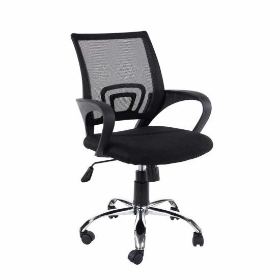 Loft Study Office Chair with Mesh Back
