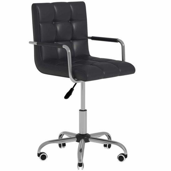 Allegra PU Leather Adjustable Swivel Office Chair