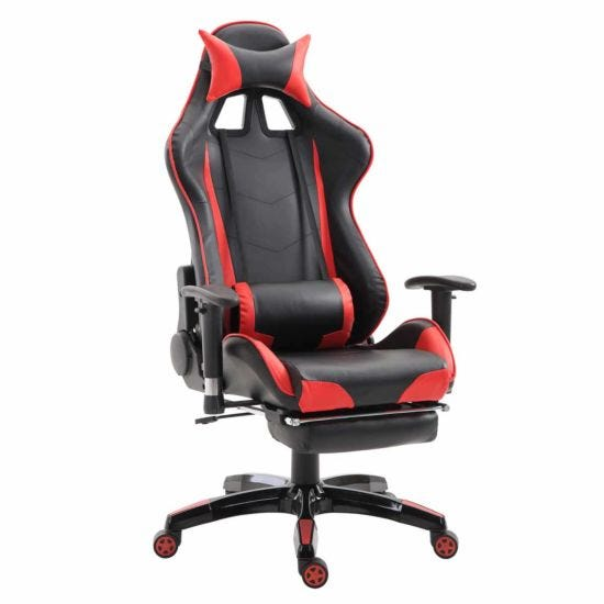 Riley Ergonomic Gaming Chair with Footrest