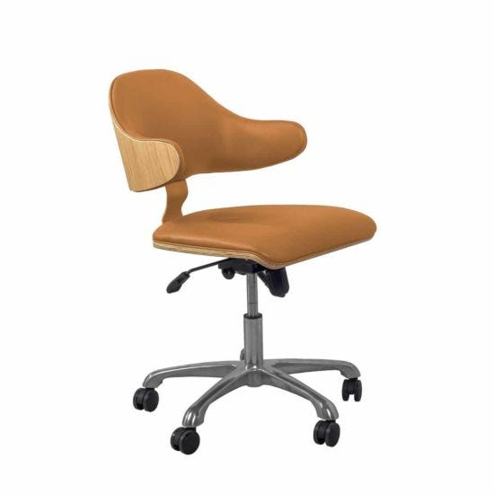 Jual Universal Wooden Swivel Office Chair
