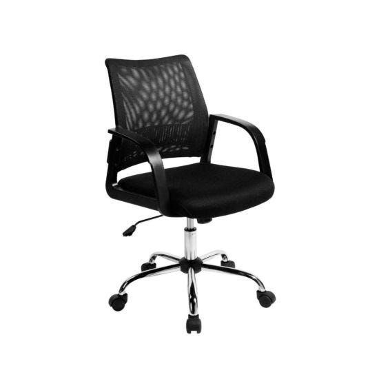 Mesh Back Operator Chair Black