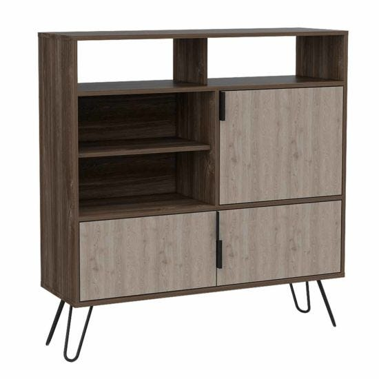 Nevada High Sideboard with Hairpin Legs