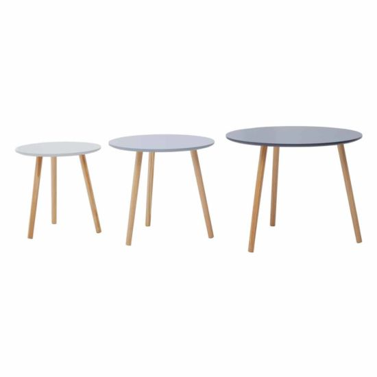 Interiors by PH Round Side Tables Set of 3