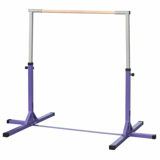 Zesty Kids Adjustable Gymnastics Horizontal Bar 145cm