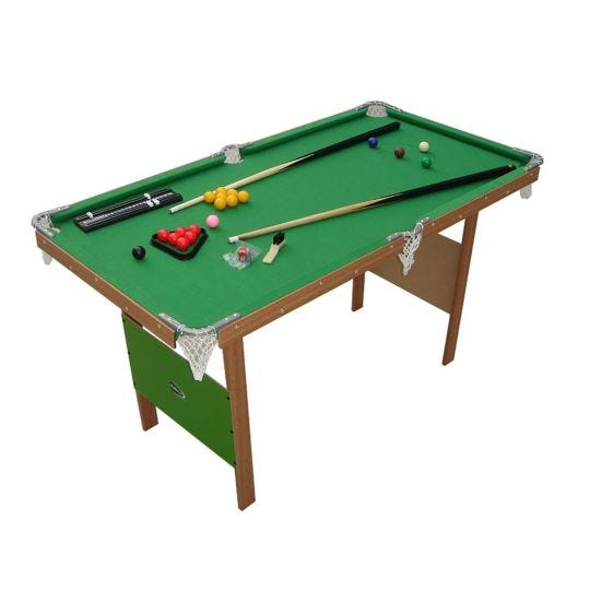 Charles Bentley 4ft Snooker or Pool Table Green