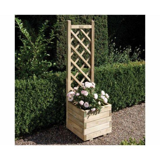 Rowlinson Square Lattice Planter