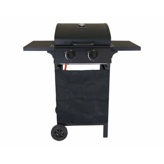 Charles Bentley Deluxe Auto Ignition 2 Burner Gas BBQ