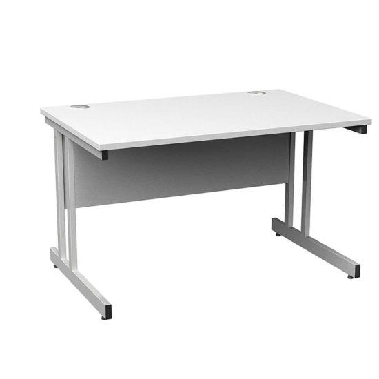 Momento Rectangular Cantilever Framed Desk 1200mm
