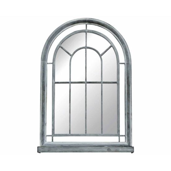 Charles Bentley Arched Glass Wall Mirror