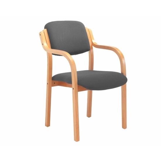 TC Office Renoir Wooden Frame Armchair