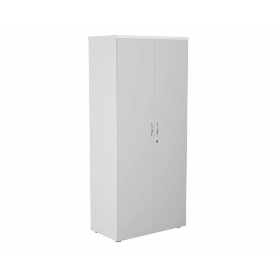 TC Office Lockable Doors for 1800mm High Bookcase White