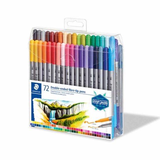 Staedtler Design Journey Double Ended Fibre Tip Pens Pack of 72
