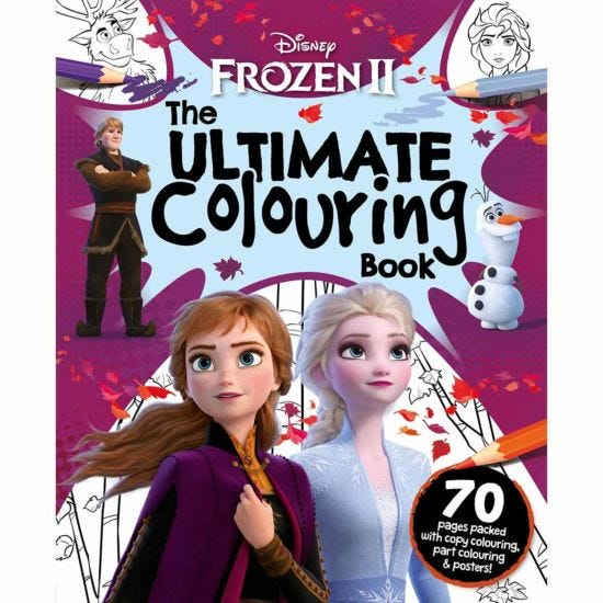 Disney Frozen II Ultimate Colouring Book