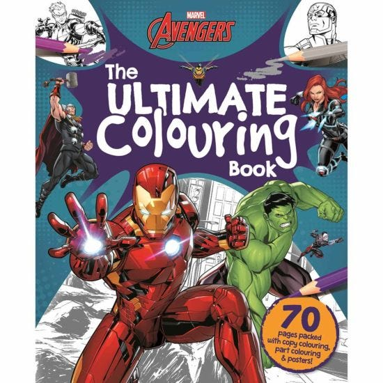 Marvel Ultimate Colouring Book