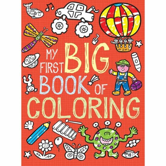 My Big Red Colouring Book
