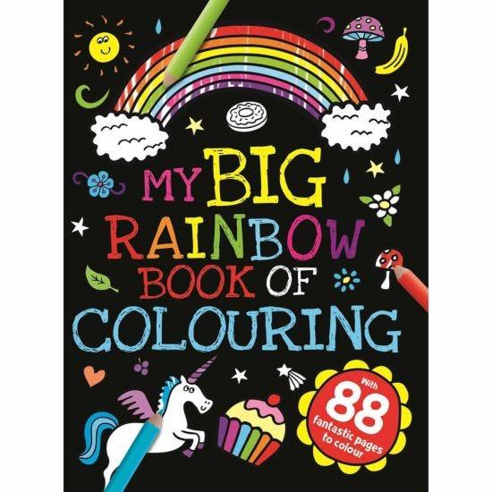 My Big Rainbow Colouring Book