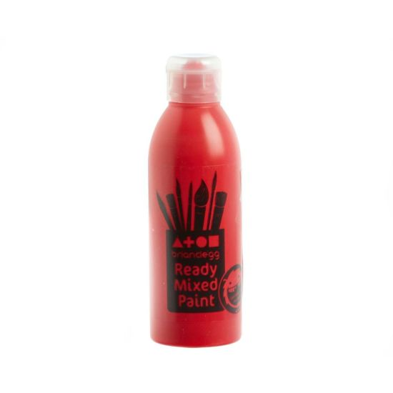 Brian Clegg Ready Mixed Paint 300ml Brilliant Red