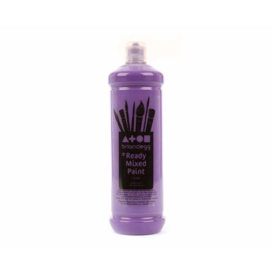 Brian Clegg Ready Mixed Paint 1 Litre Purple