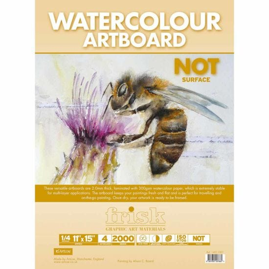 Frisk Watercolour Artboards Pack of 4