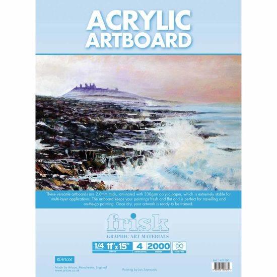 Frisk Acrylic Artboards Pack of 4