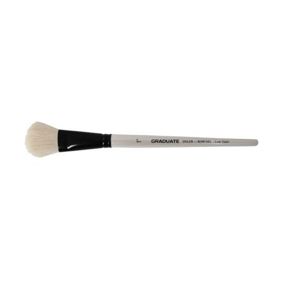 Daler Rowney Graduate Brush White Goat Oval Wash 1
