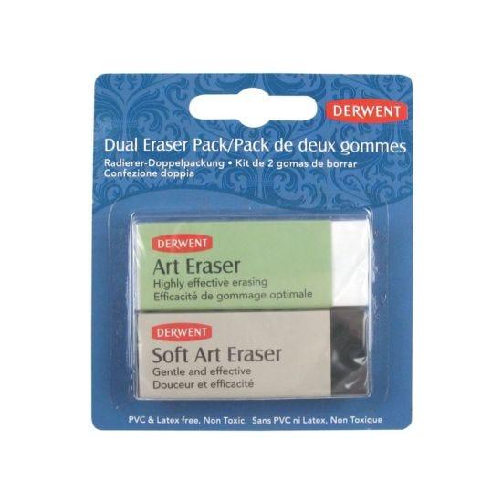 Derwent Dual Eraser Pack of 2