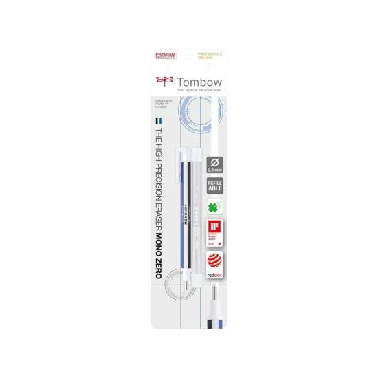 Tombow Mono Zero 2.3mm Eraser and Refill Slim