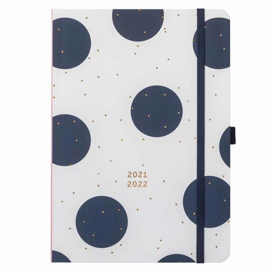 Busy B Mid-Year Day a Page Diary 2021