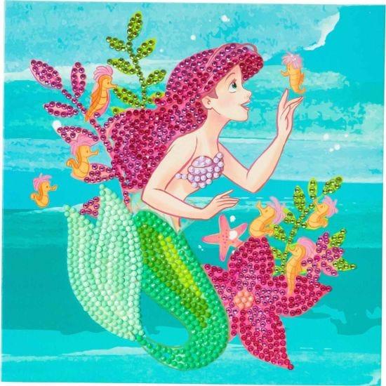 Ariel Crystal Art Card 18x18