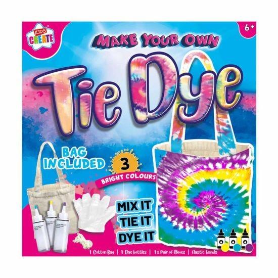 Kids Create Tie Dye Bag Set in Box