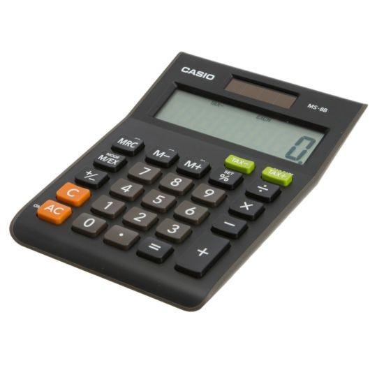 Casio MS-8B Semi Desk Calculator