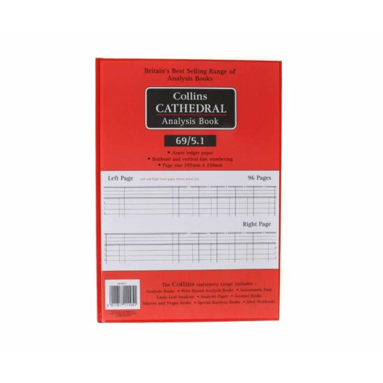 Cathedral Account Book 5 Column 96 Pages 48 Sheets
