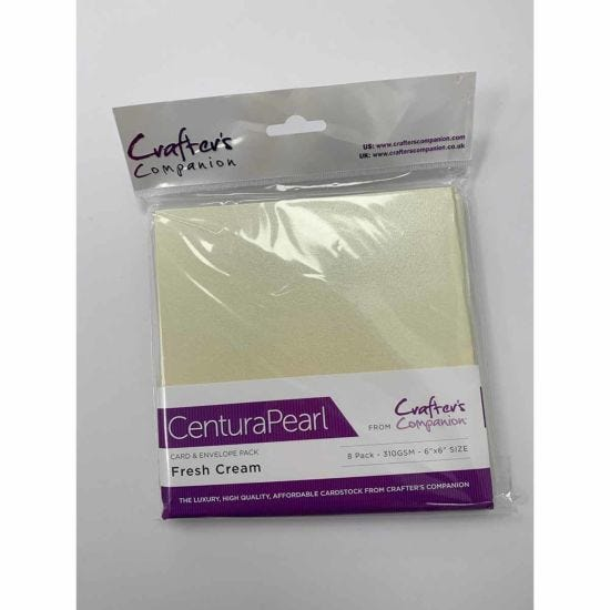 Crafters Companion 6x6 Card Envelope 8 Pack