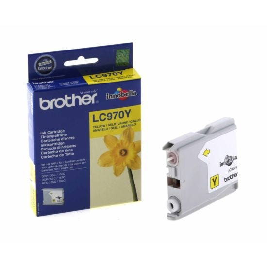 Brother LC970Y Ink Cartridge