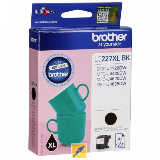 Brother LC227XLBK High Yield Cartridge