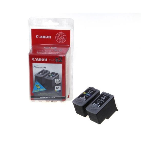 Canon Inkjet Cartridge 1441 Multipack PG40 and CL41