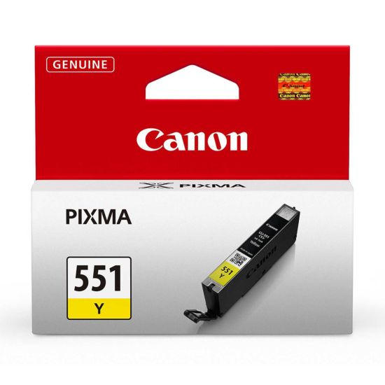 Canon CLI-551 Ink Colour Cartridge Yellow